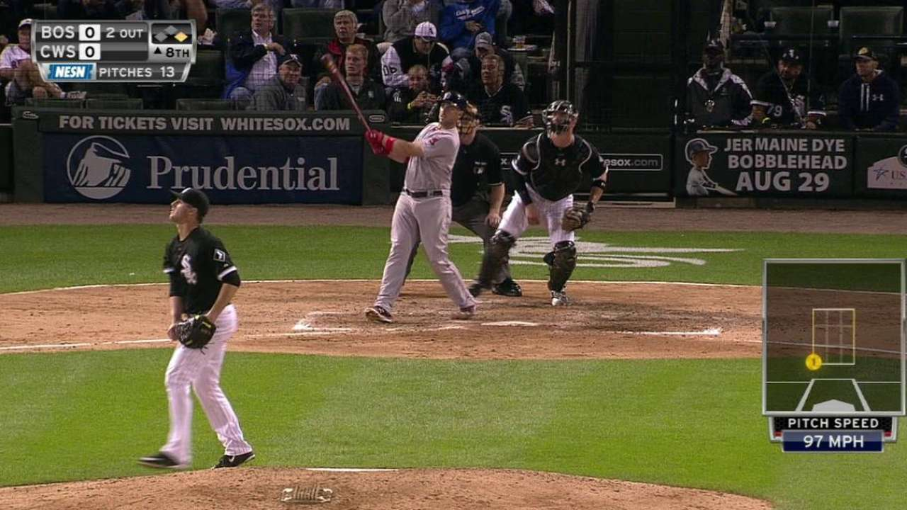 Shaw's two-run homer