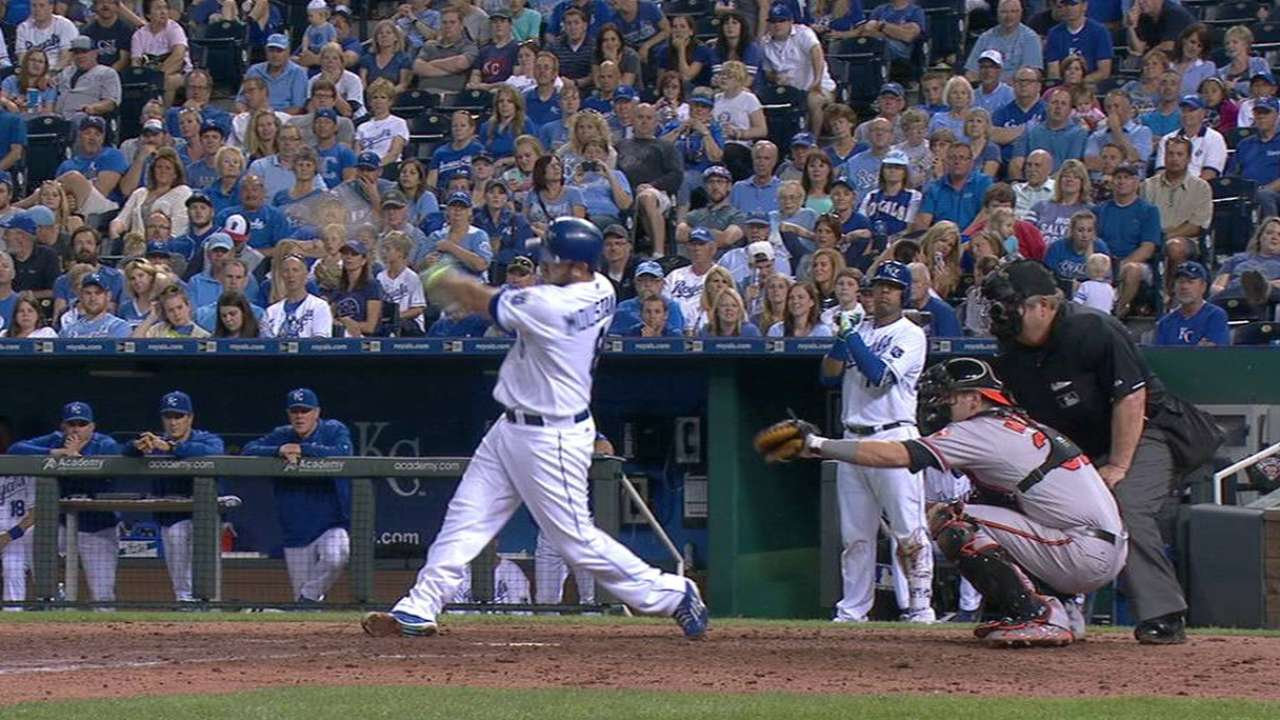Moose continues to rake with 15th home run