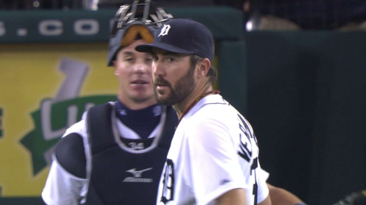 Verlander's one-hit shutout