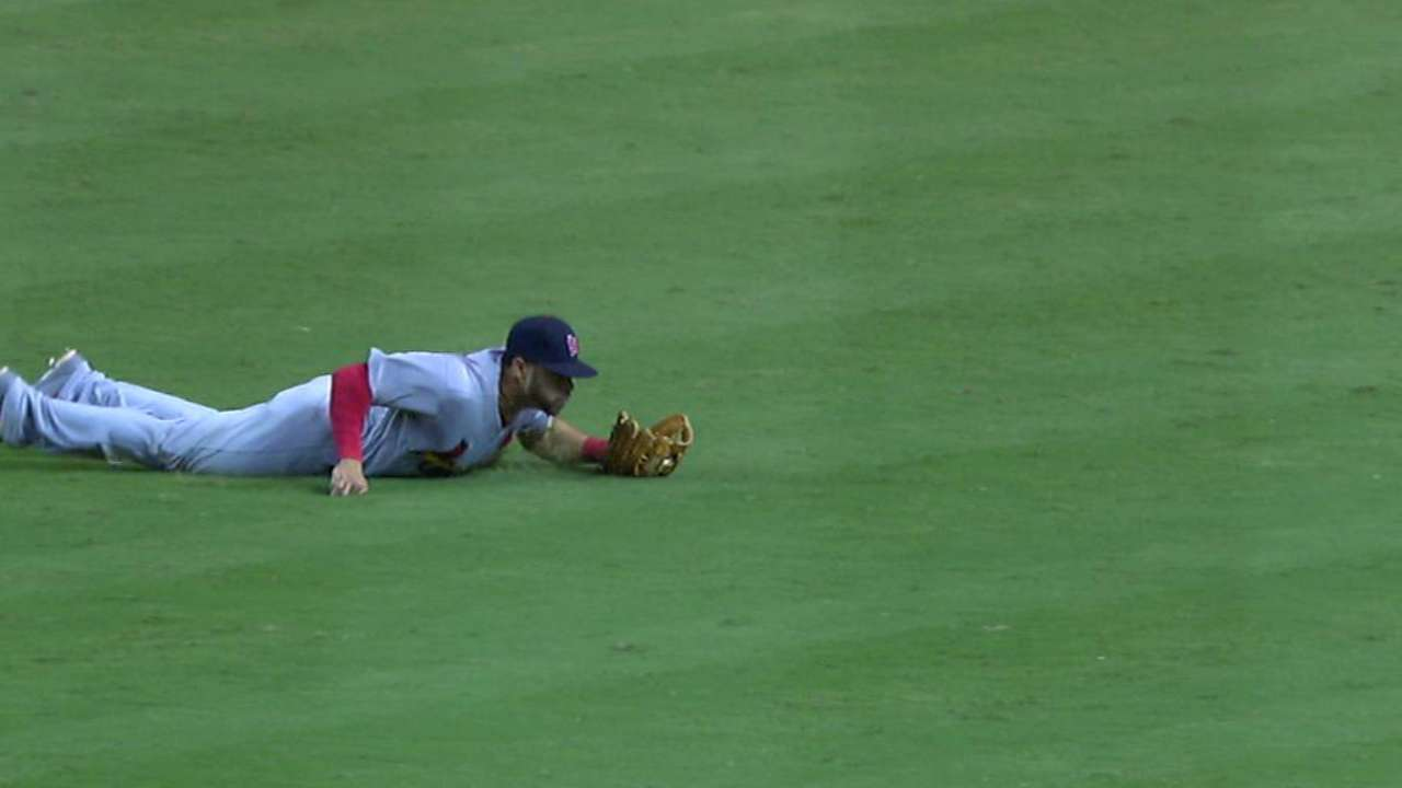 Pham's diving catch