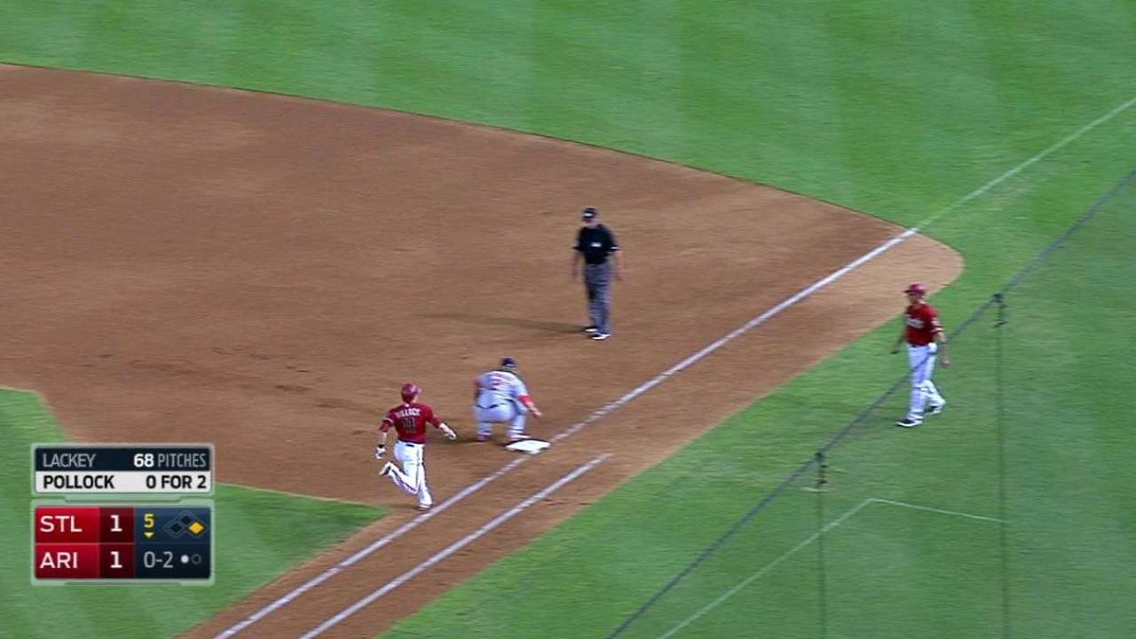Double plays proving to be Cards' desert friends