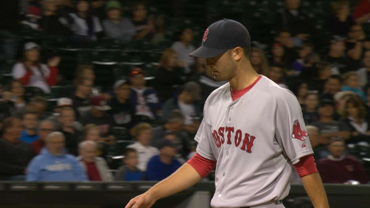 Shaw's homer sends Porcello, Red Sox to victory