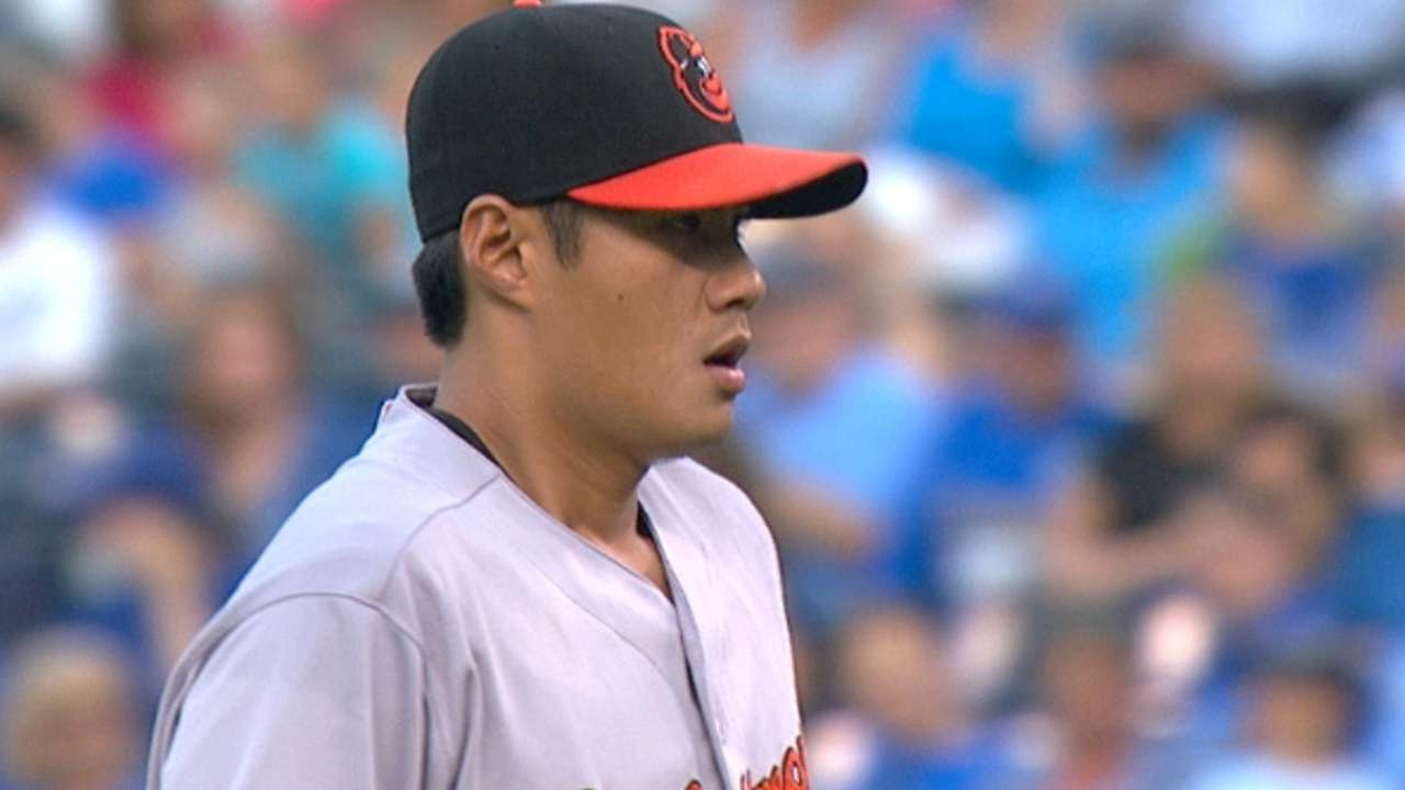 Chen's solid outing