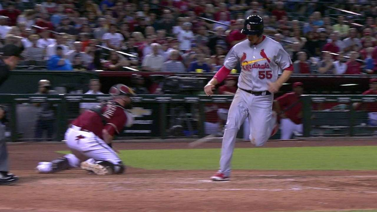 Cards follow Lackey to fourth straight win