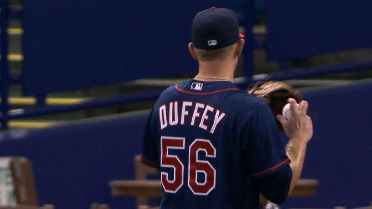 Duffey's 5 1/3 innings of work
