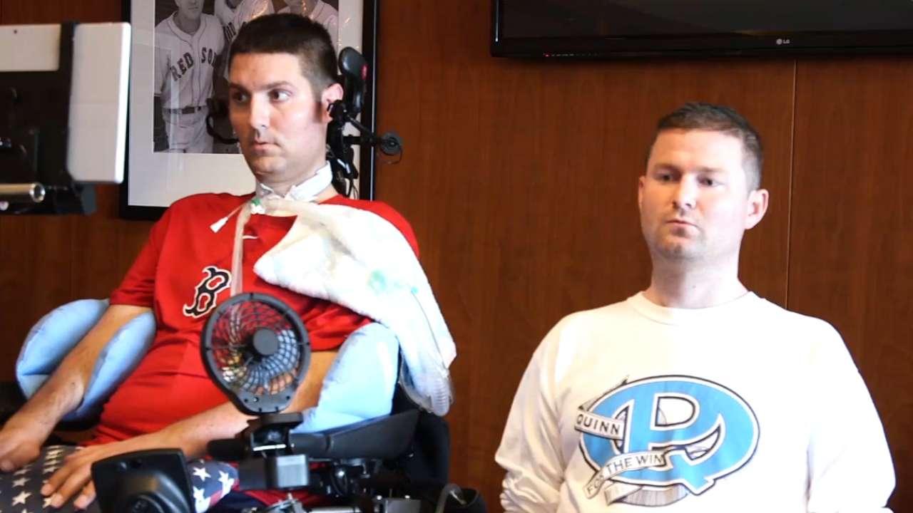 Frates, Quinn on ALS Challenge