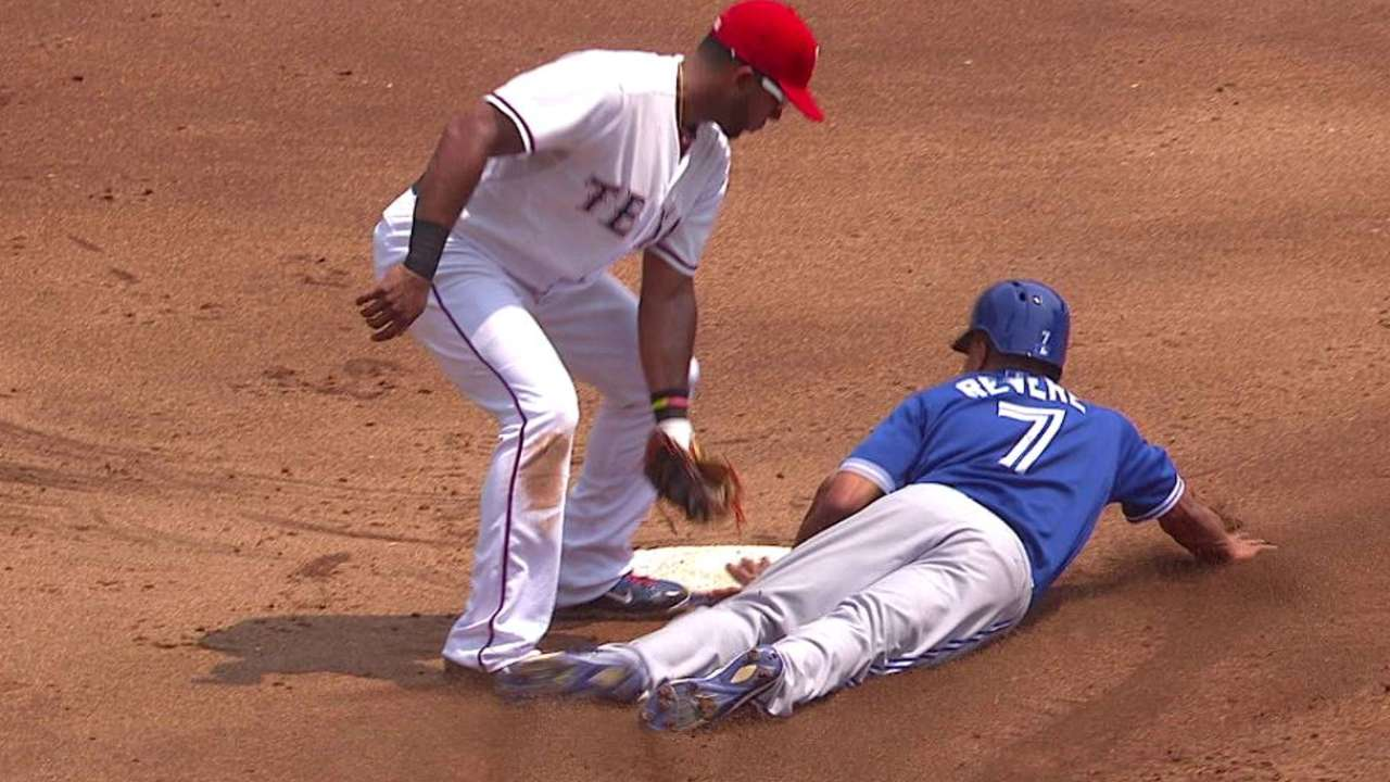 Revere's first Blue Jays steal