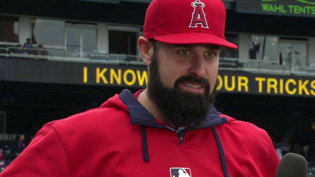 Angels' strong staff can pick up offense