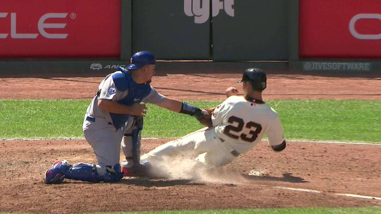 Cubs get Aoki at the plate