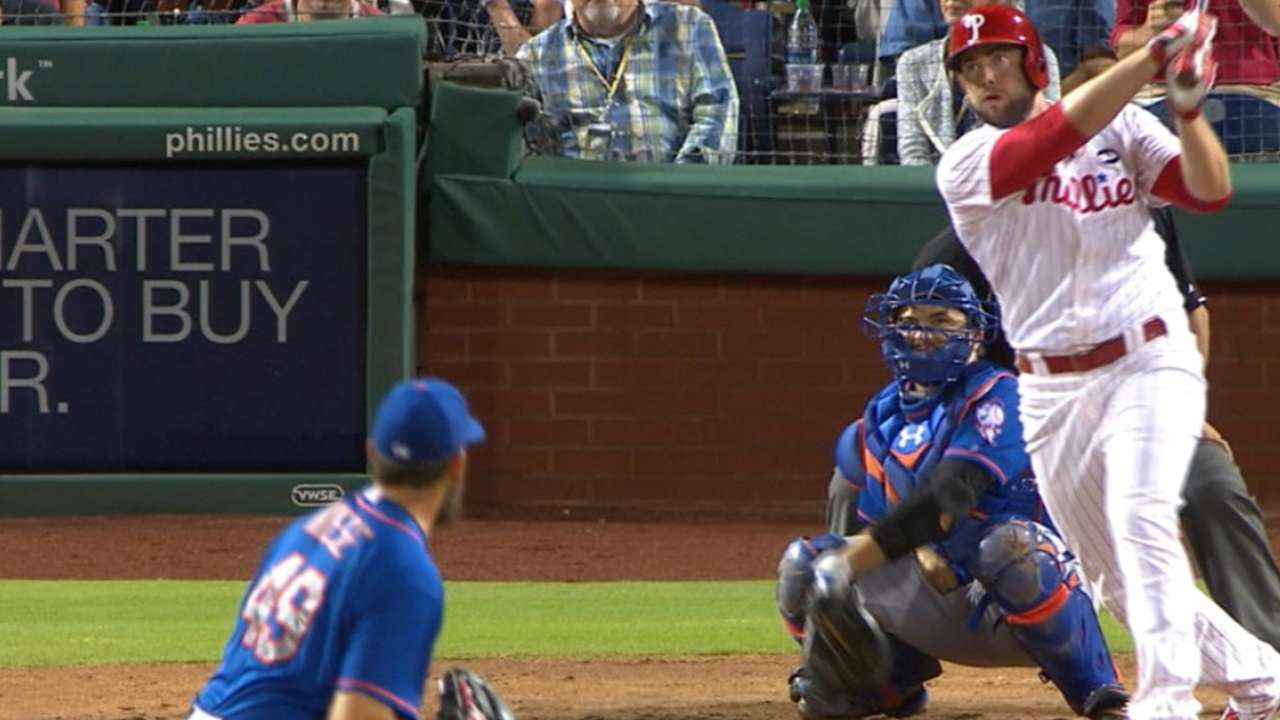 Phillies' five-run reel