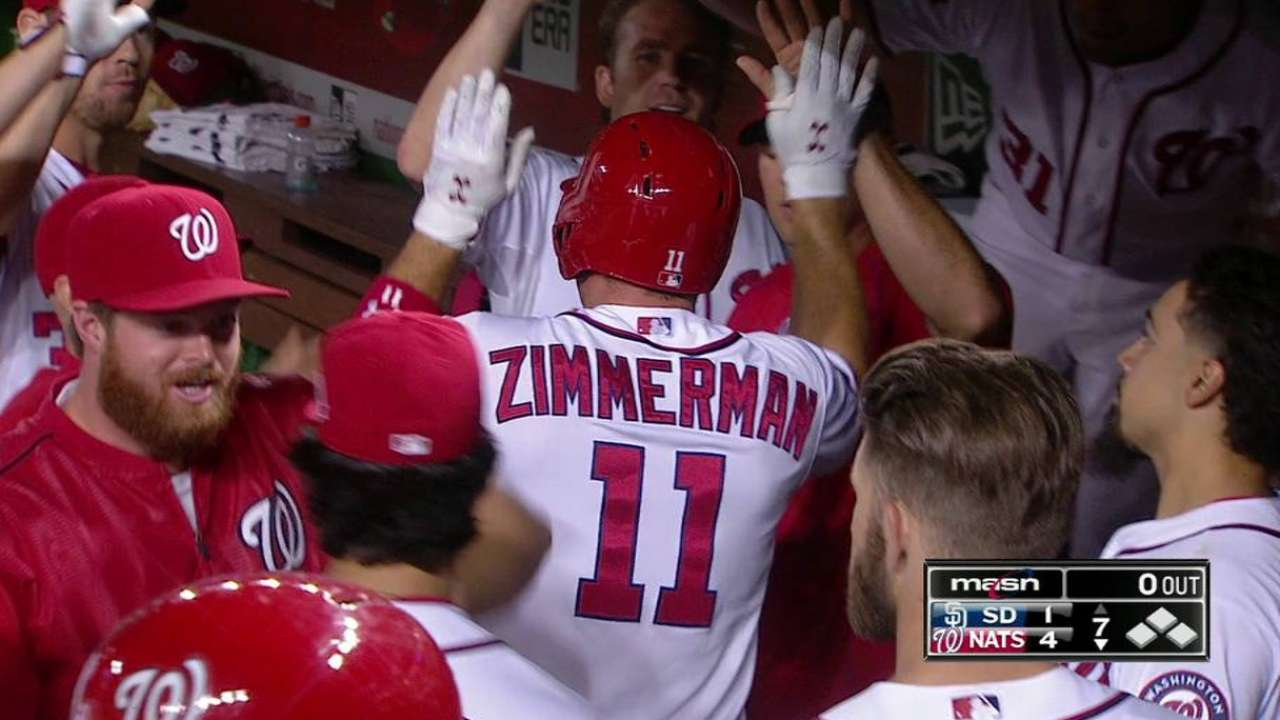 Ross goes 6 strong as Nationals top Padres