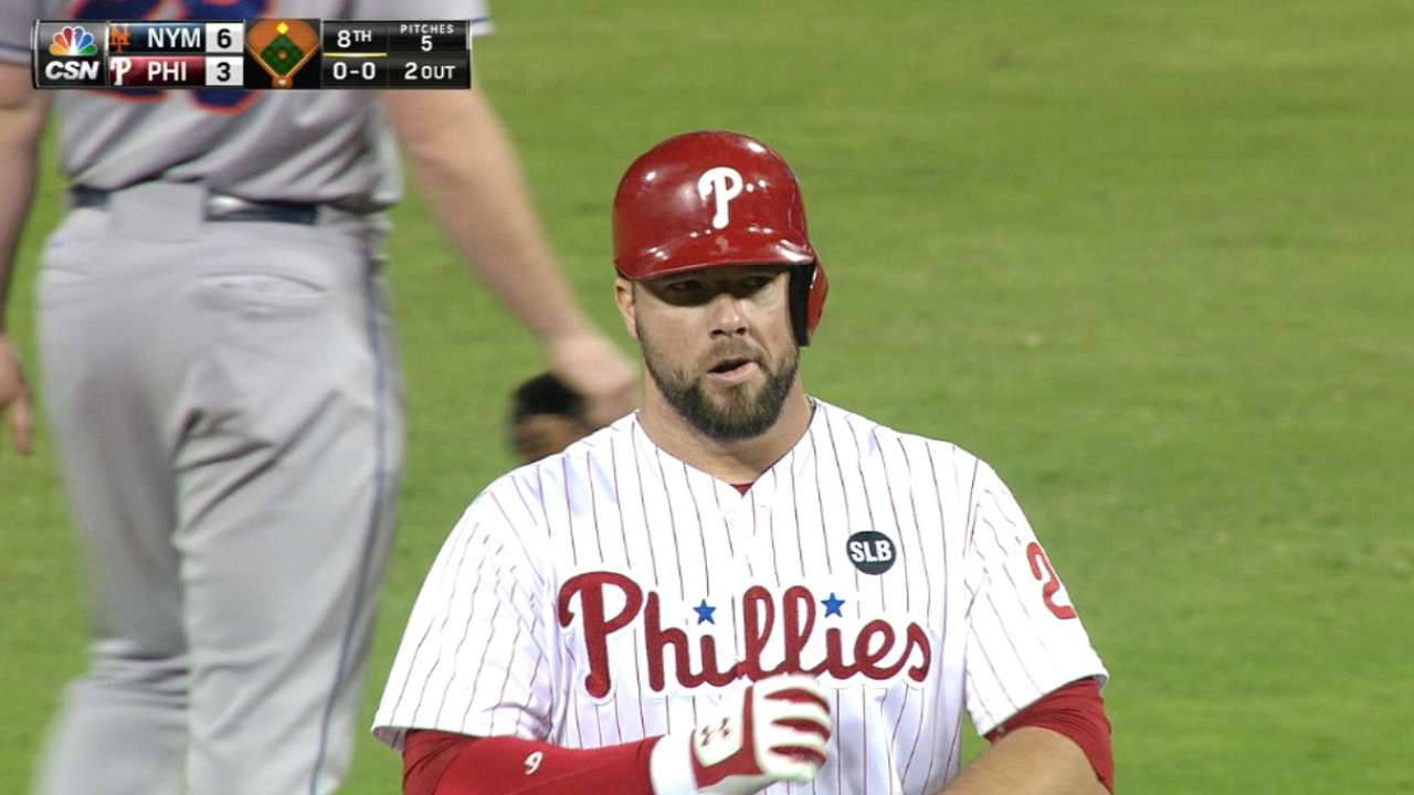 Phils excited about future behind the plate