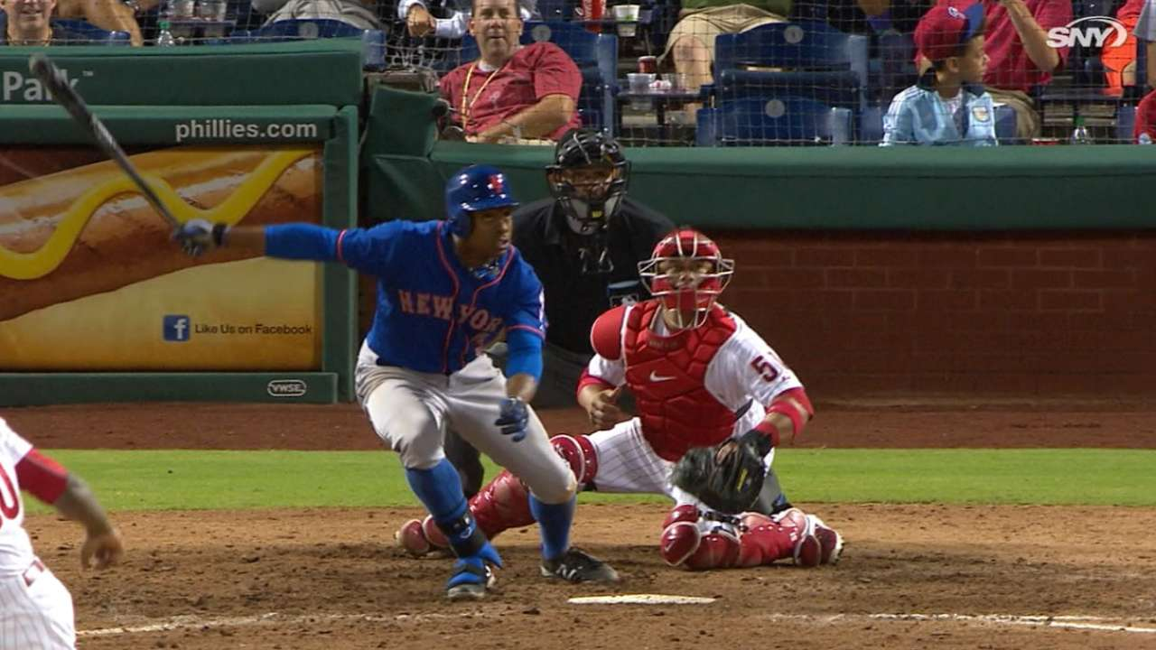 Grandy's four hits