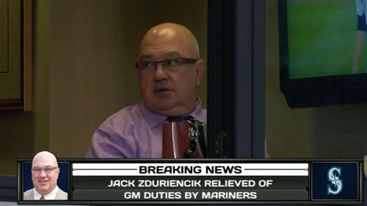 Zduriencik's 5 biggest moves, Draft history
