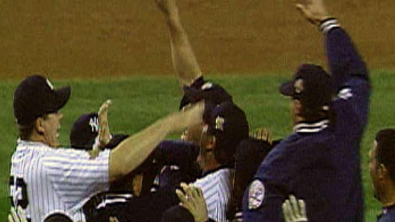 Yanks win the 1996 World Series