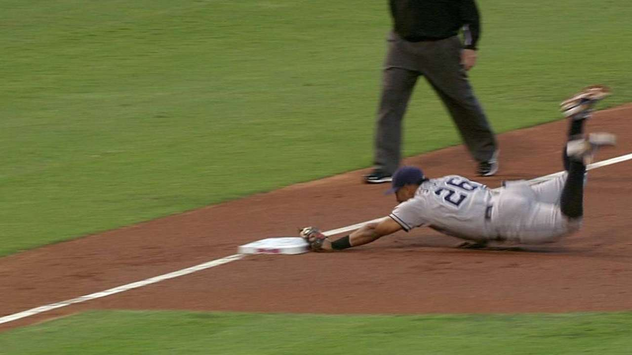 Solarte's unassisted double play