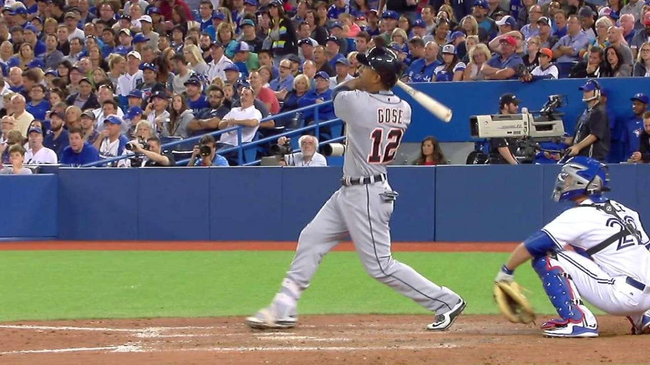 Gose's two-run homer