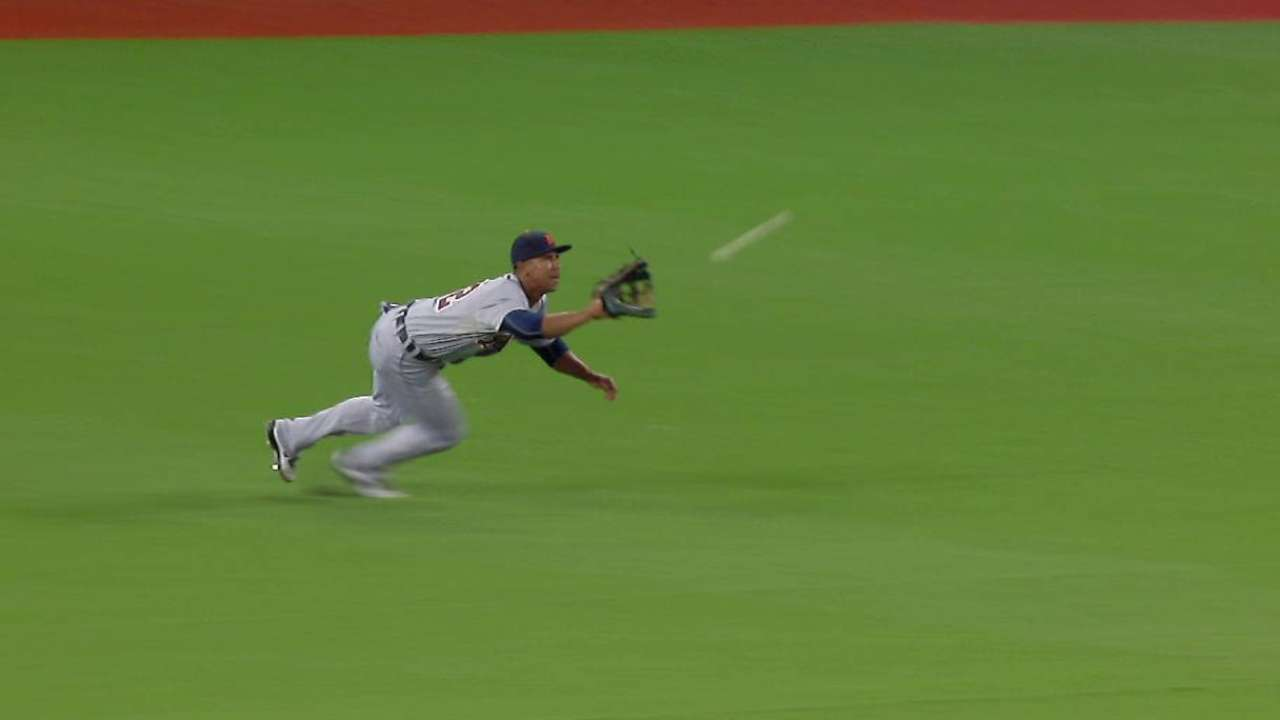 Gose's diving catch