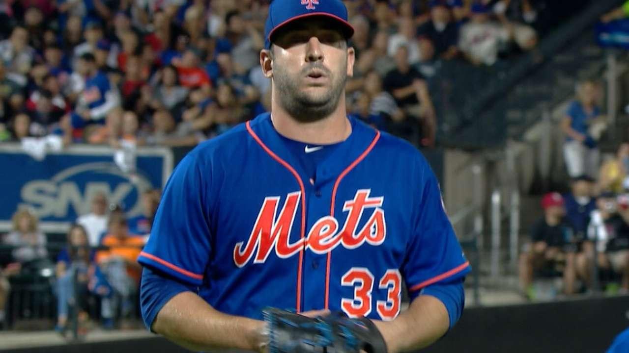 Harvey's six scoreless innings