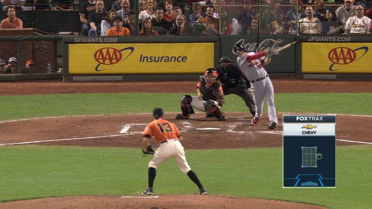 Piscotty has strong night in homecoming
