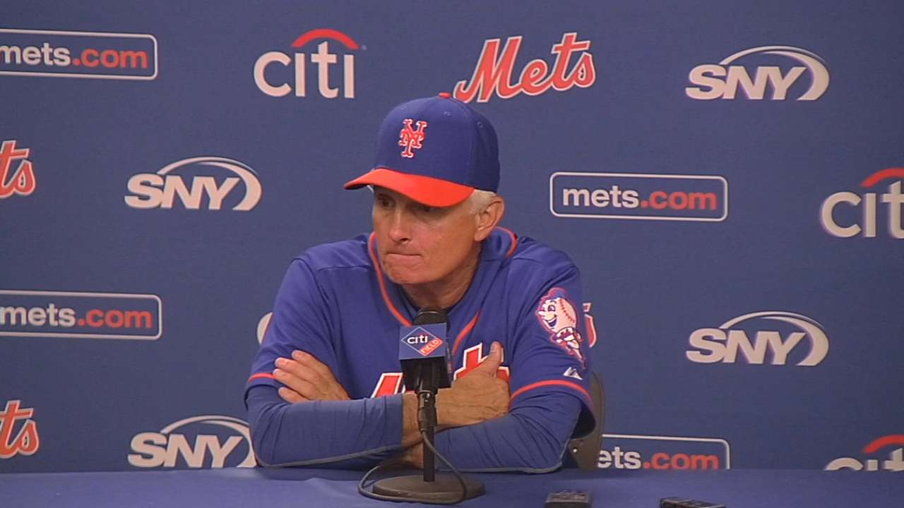 Collins on Harvey, loss to Sox