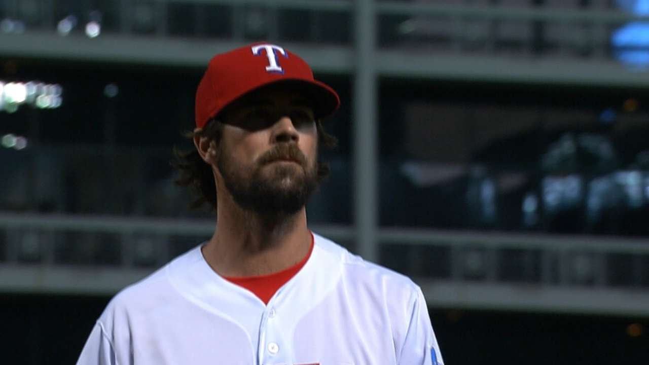 Rangers plan to stay in rotation for stretch