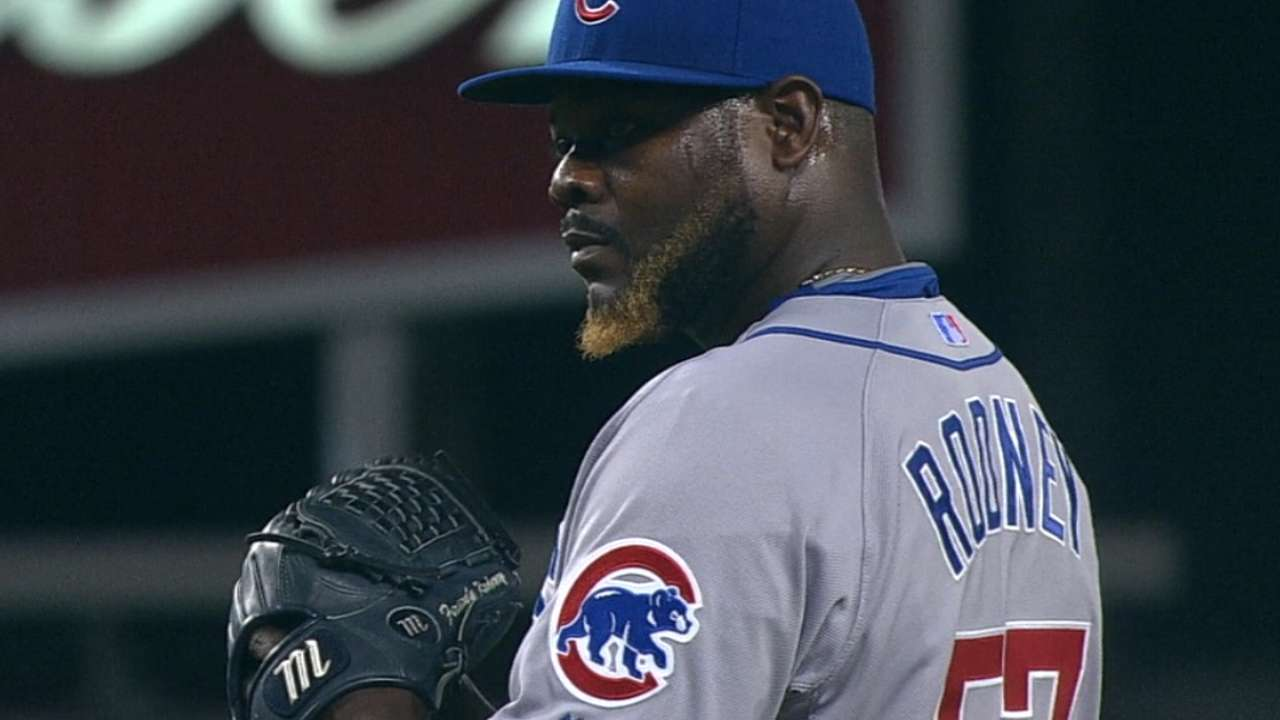 Rodney happy to be reunited with Maddon
