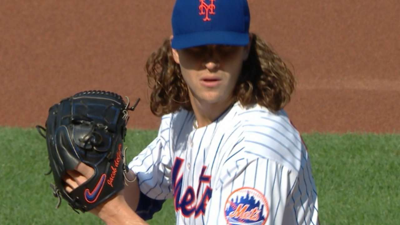 deGrom to start Game 1 of NLDS for Mets