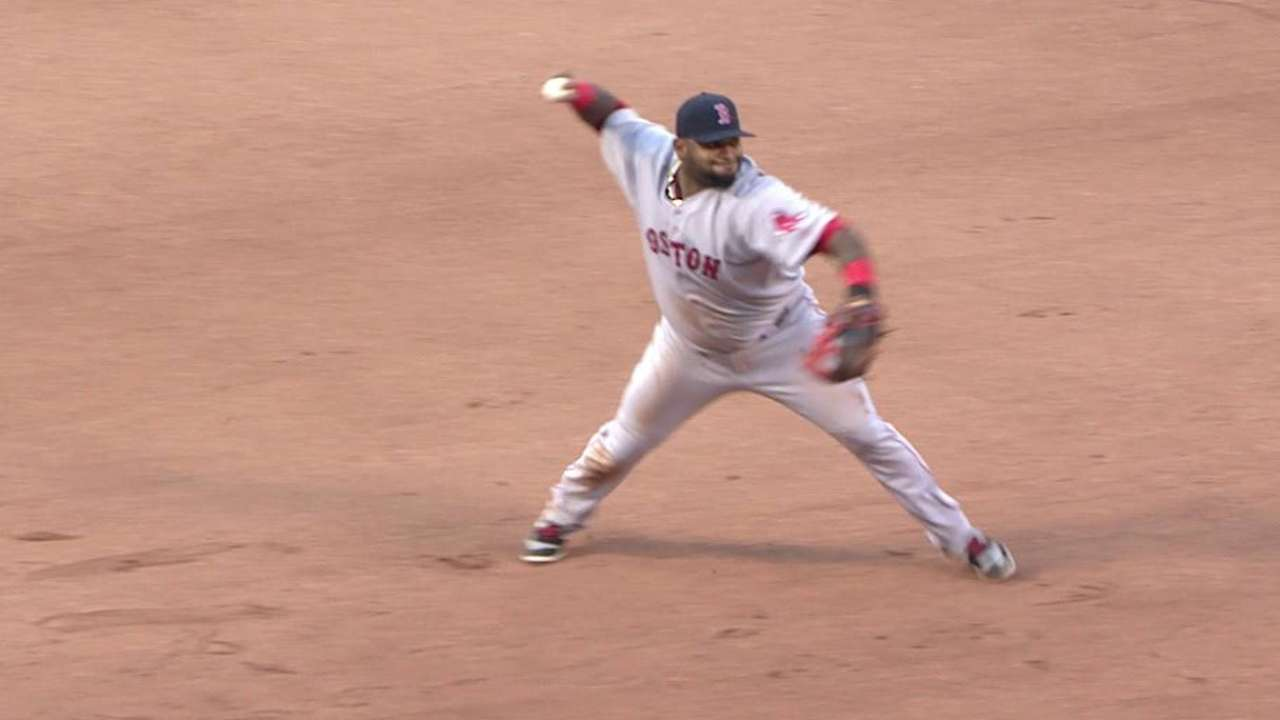Sandoval's diving stop