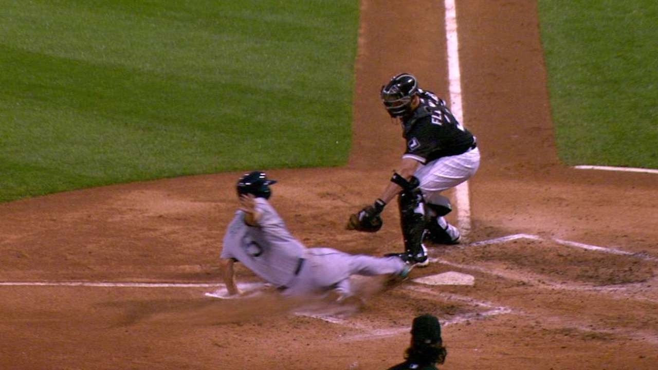 Sanchez nabs Seager at home