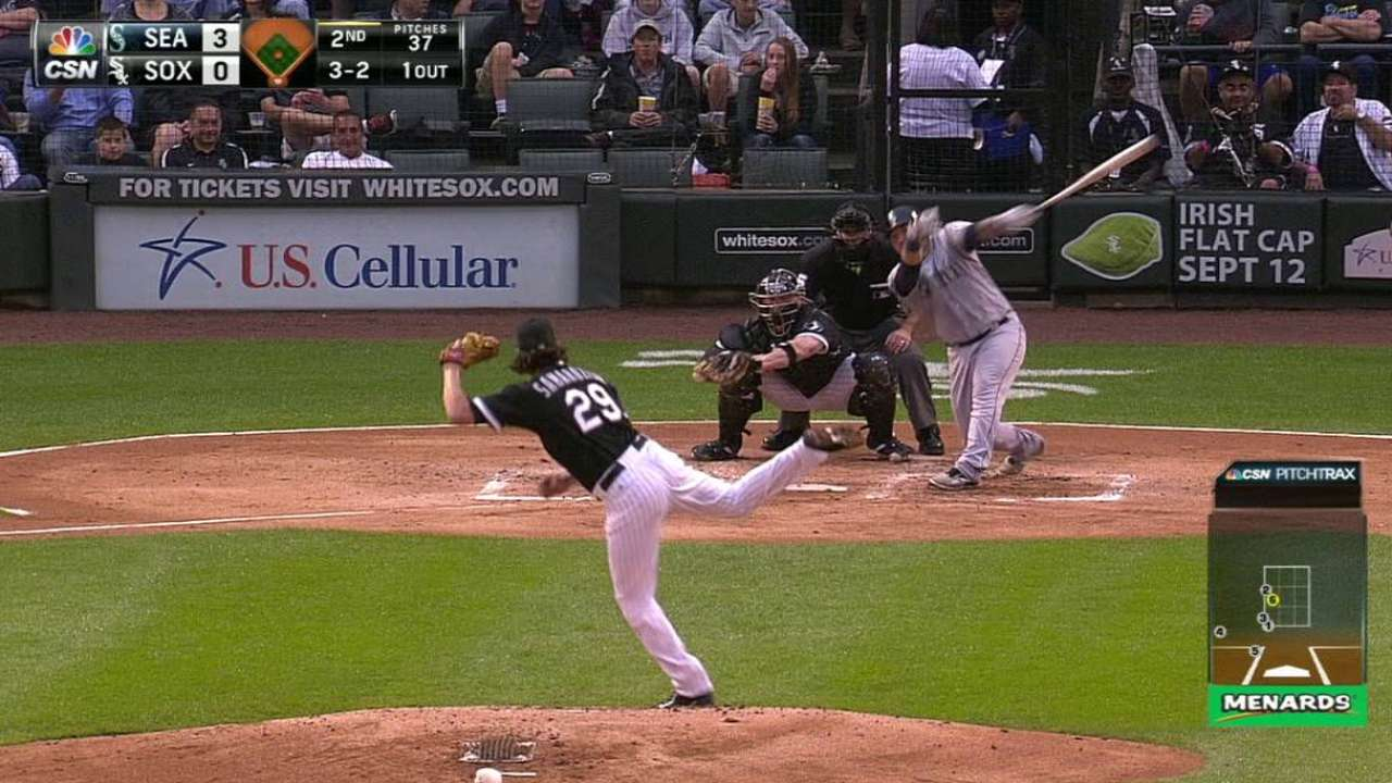 Samardzija strikes out Sucre