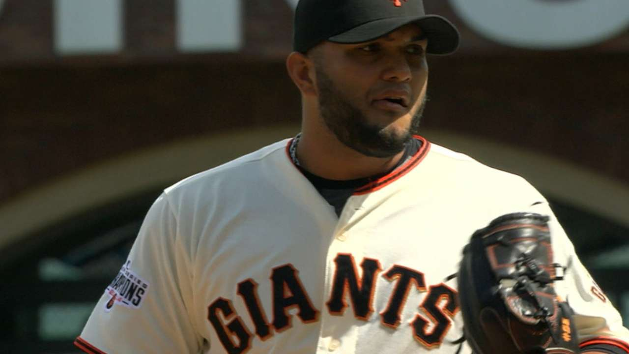 Giants face decision on Petit, Sanchez