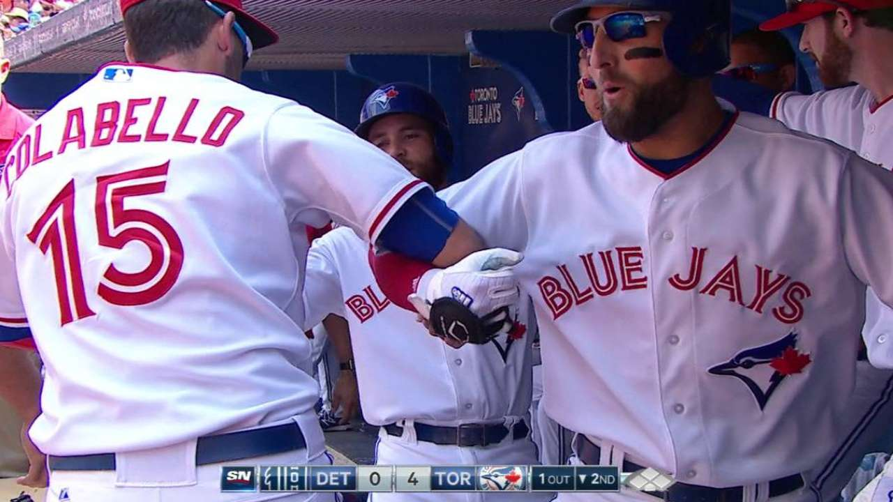 Pillar's two-run home run