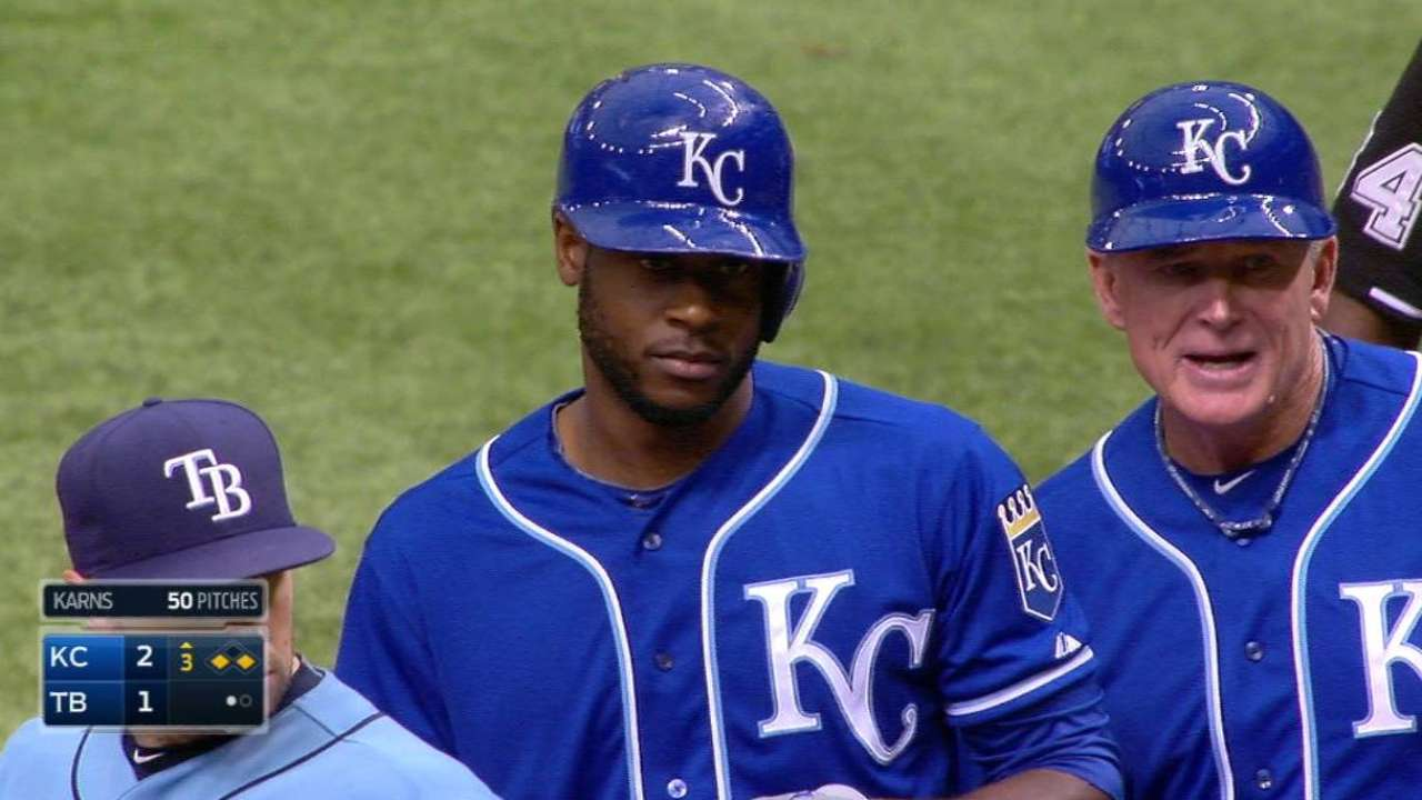 Royals come up just short in finale vs. Rays