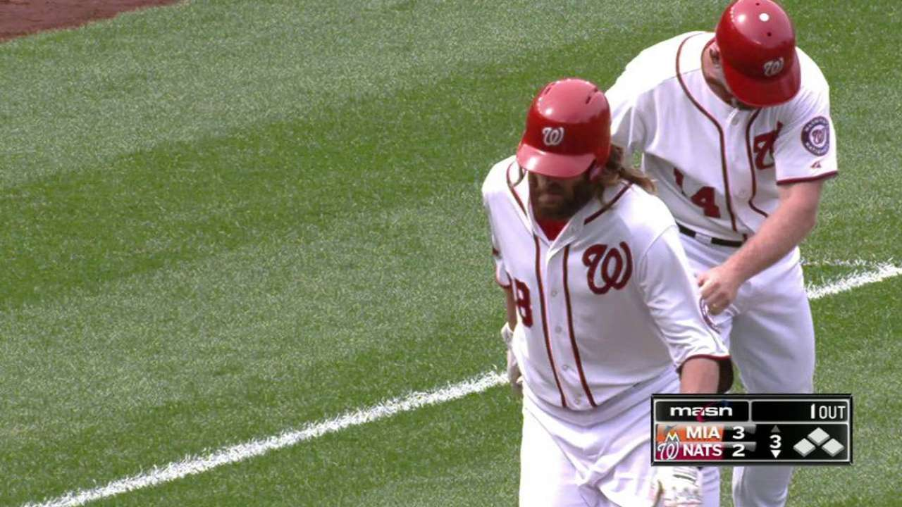 Werth's two-run tater
