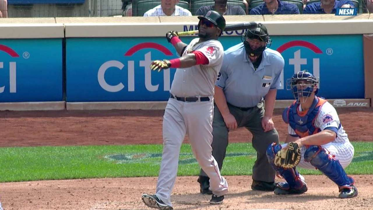 Papi passes Gehrig, McGriff with HR No. 494