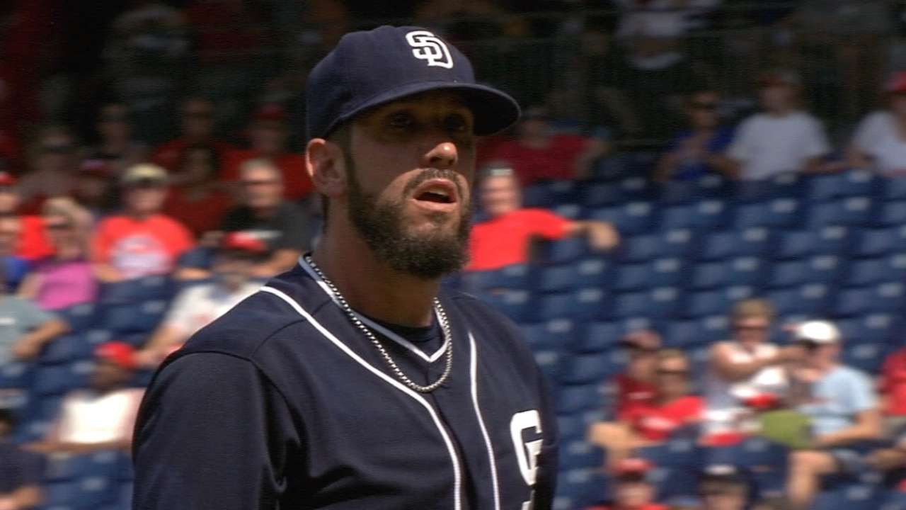 Shields Leads Padres Past Phillies 9-4