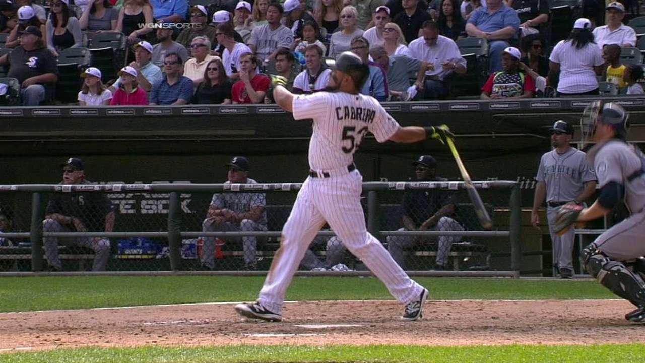 Cabrera's game-tying home run