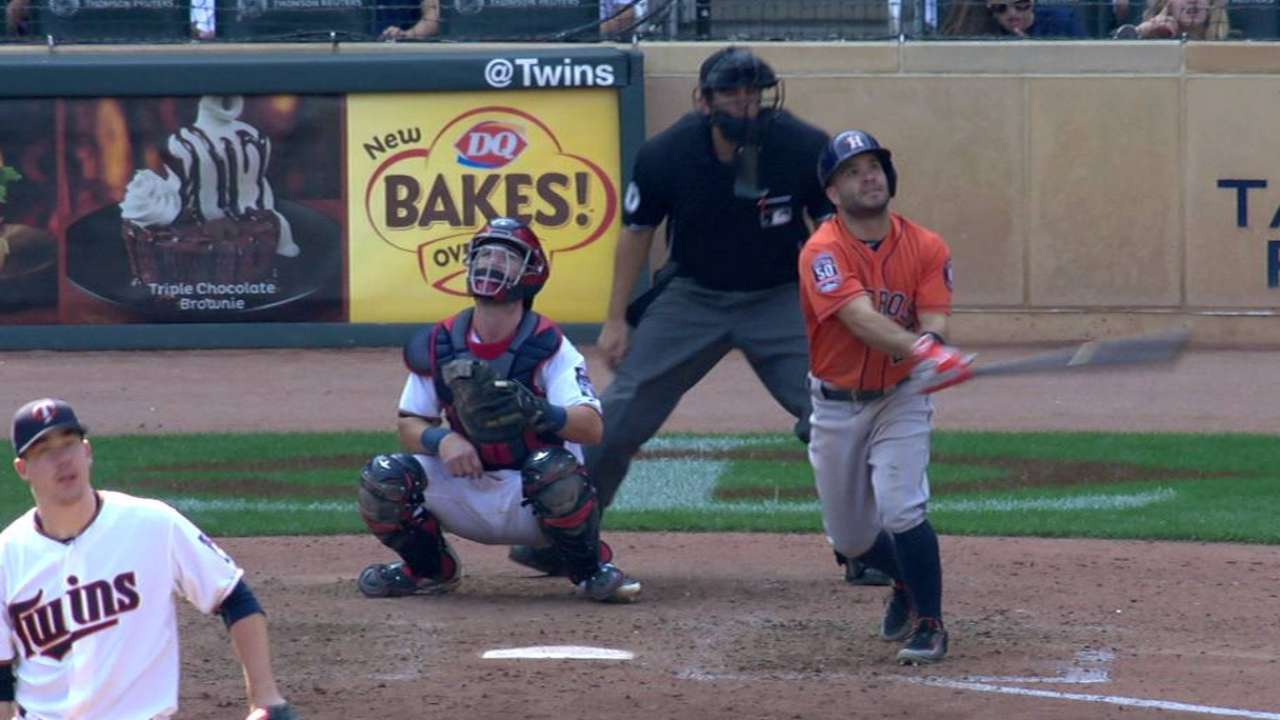 Astros don't go quietly in finale with Twins