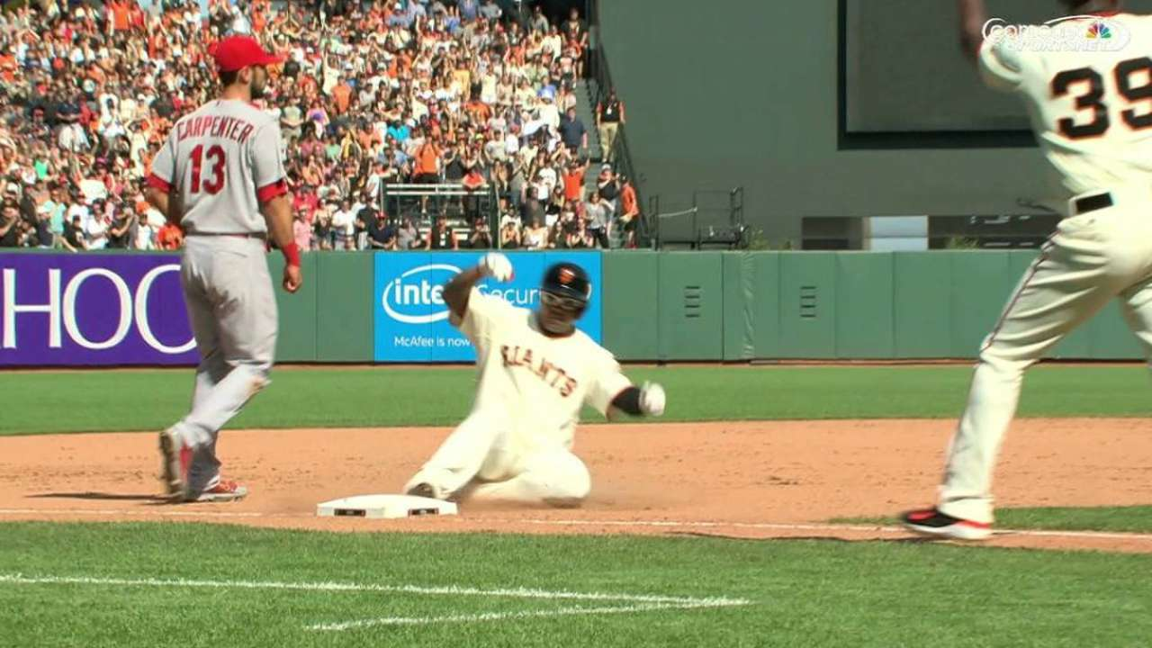 Heston's early struggles too much for Giants