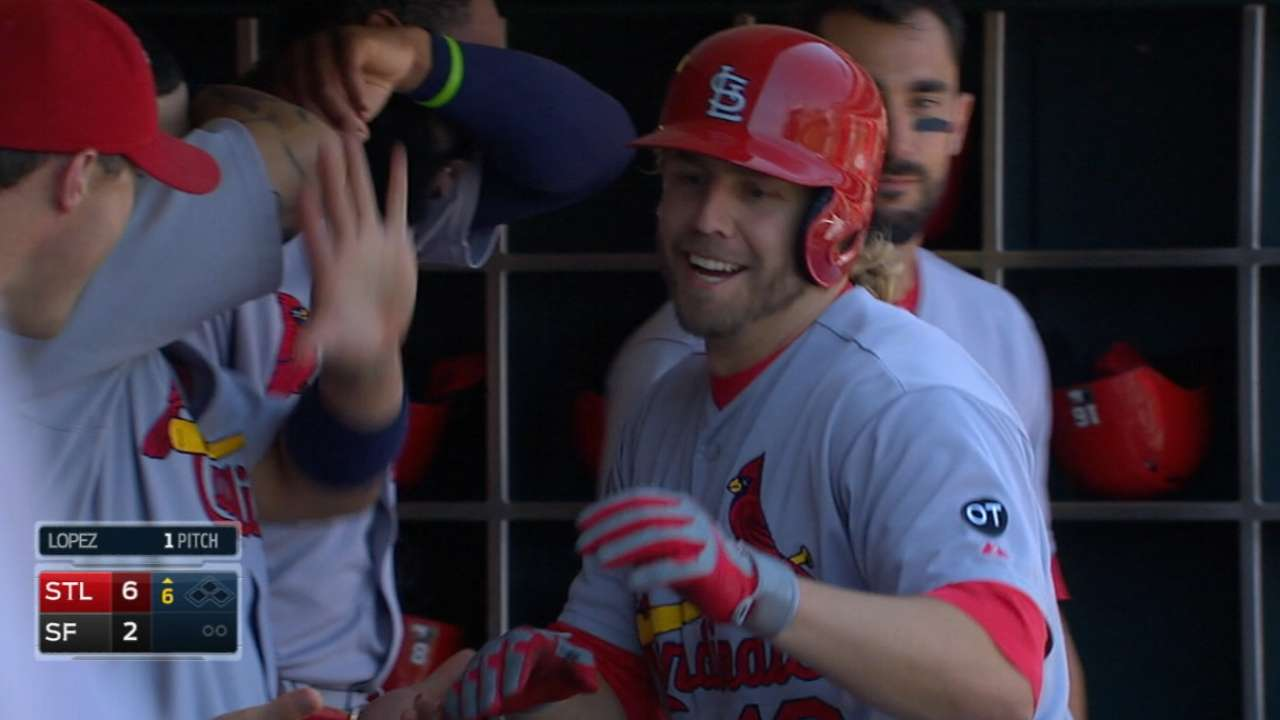 Cards muscle their way to win over Giants