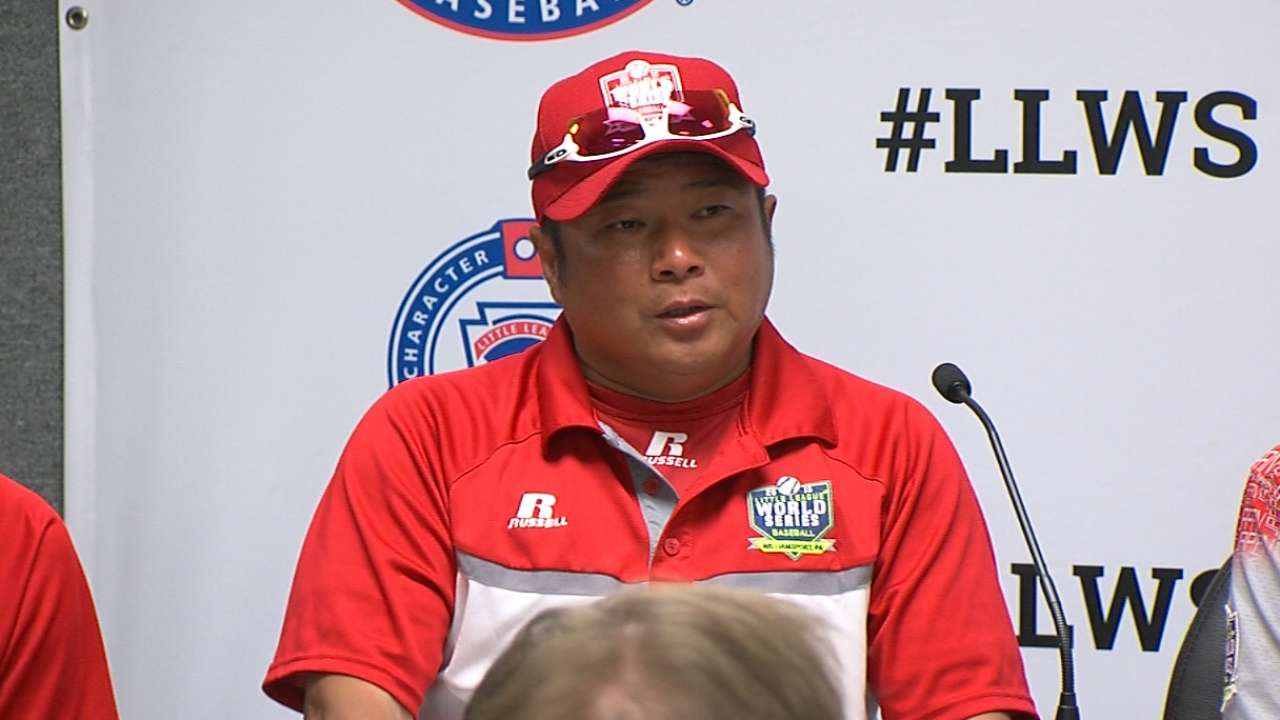 Japan outslugs US in record LLWS title game