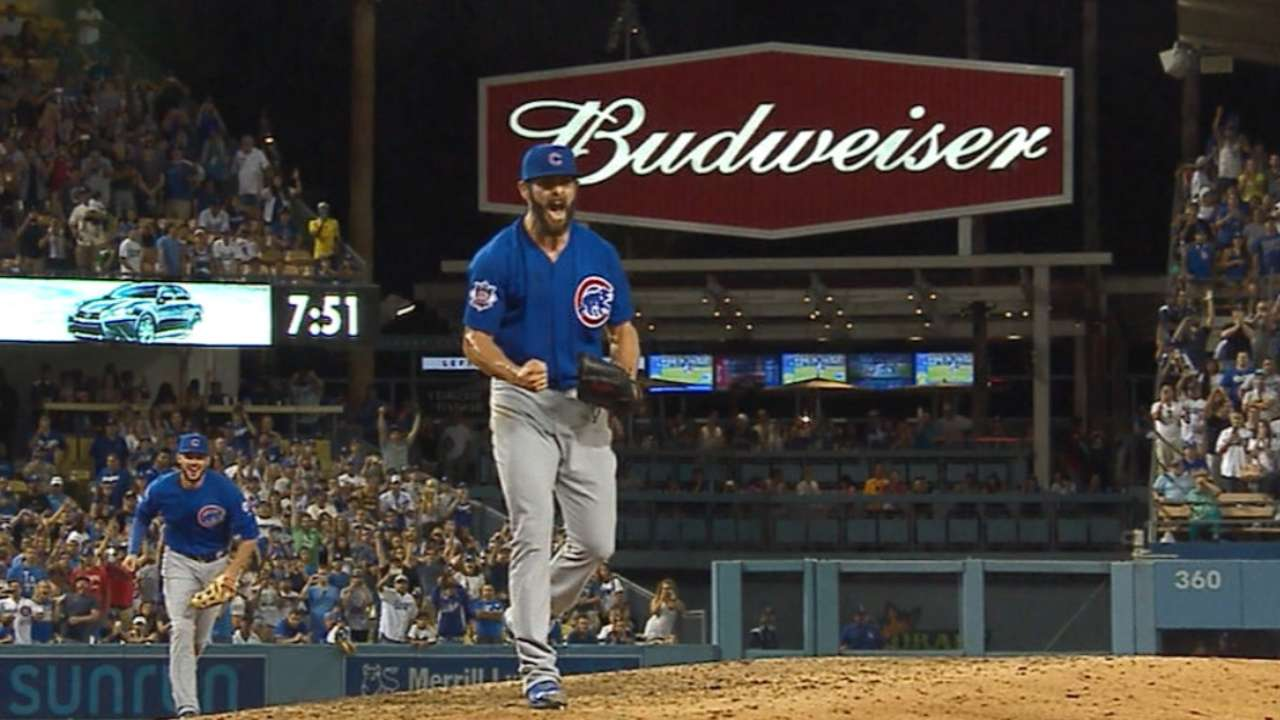 Arrieta K's side to finish no-no