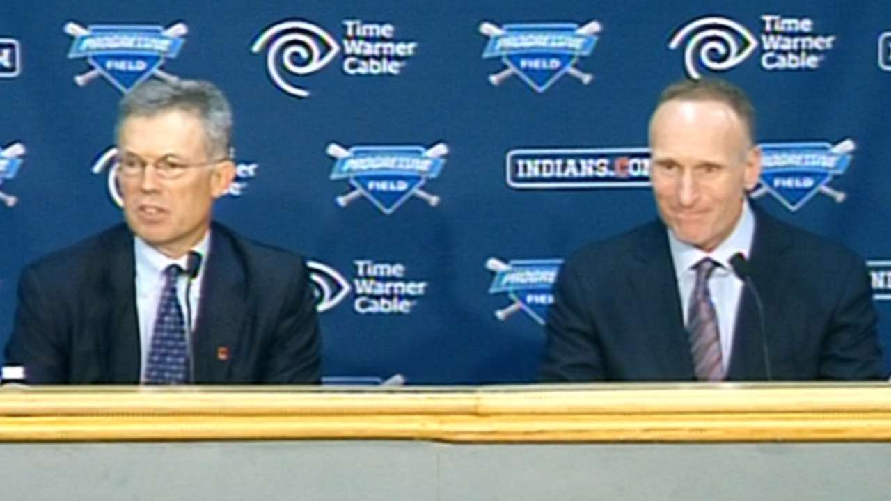 Shapiro headed to Blue Jays to be president, CEO