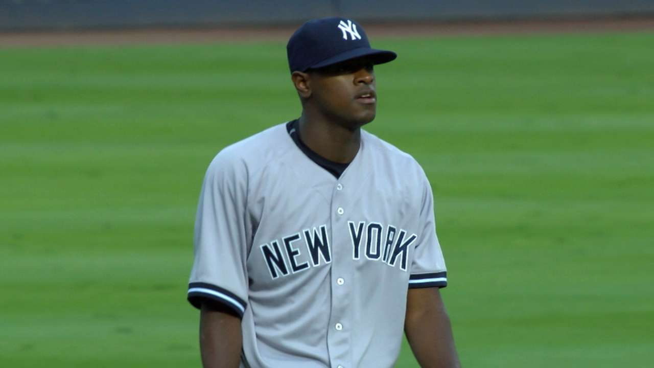 Severino's six scoreless frames