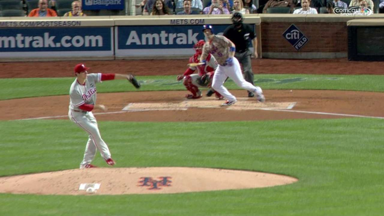 One shaky inning hurts Eickhoff, Phillies