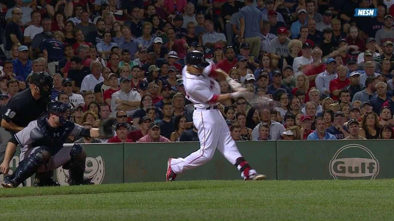 Betts' two-run homer