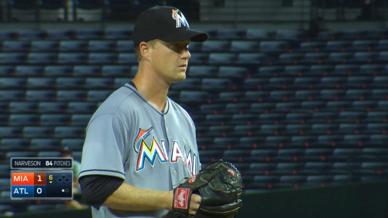 Narveson among Marlins' NRIs to spring camp
