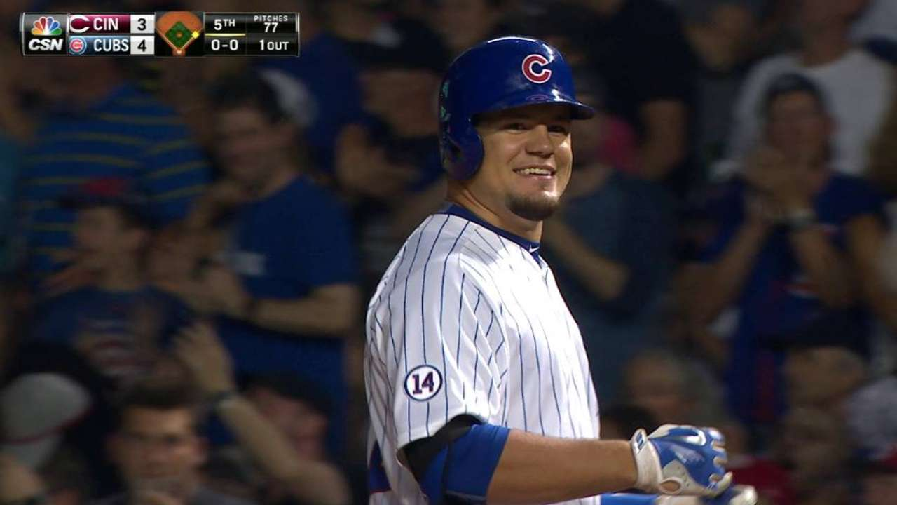 Schwarber could be in lineup for finale