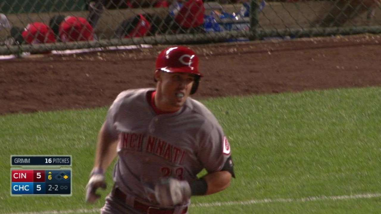 Duvall's two-run homer